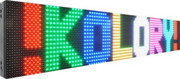 Tablica LED kolorowa 80 X 20